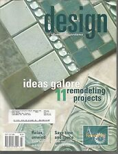 Design Homes & Gardens September October 2005 Cincinnati/Northern Kentucky