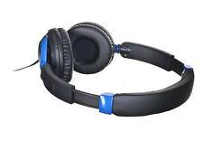 New TDK ST260S Stereo Headphone Over Ear  Blue  Mic Headset adjustable