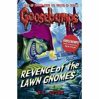Revenge of the Lawn Gnomes (Goosebumps), Stine, R.L., Very Good Book
