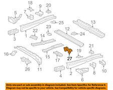 TOYOTA OEM 05-18 Sienna Rails-Center Support 5827808011