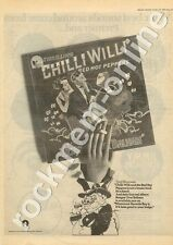 Chilli Willi & The Red Hot Peppers Bongos Over Balham Advert 19/10/74