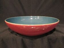Denby HARLEQUIN - Pasta Bowl Red and Green - BRAND NEW