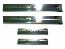SCUFF PLATES STAINLESS STEEL DOUBLE CAB 4 DOORS SILL MAZDA BT-50 PRO 2012-2013