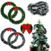 30/35cm Wreath Christmas Decoration Thanksgiving Garland Door Window Home Decor