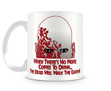 DAWN OF THE DEAD - 11 oz Ceramic Coffee Cup Mug ZOMBIE Walking The Earth Horror