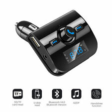 Wireless Bluetooth Car Kit FM Transmitter LCD MP3 Stereo Player USB Charger New