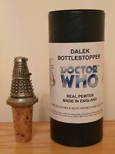 Doctor Who Licensed Pewter Dalek Bottlestopper (8cm tall)