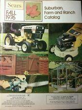 Sears 1976 Fall Suburban-Farm Catalog COLOR Garden Tractor 176pg Tiller SS/16 ST