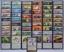 Lot de toutes les 55 cartes communes Sombracier Magic MTG françaises