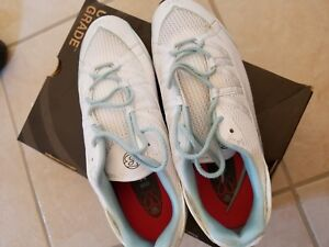 Bontrager Cadence Womens Spin / Bicycle SPD Shoes White NOS -42/10