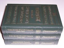 Easton Press LOST & UNFINISHED TALES OF Númenor and middle-earth J R R Tolkien 3