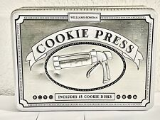 Williams-Sonoma Cookie Press, New (?)