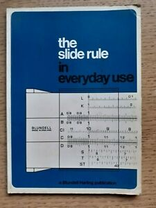 Blundell Harling Super Duplex A505 Slide Rule in case with instruction booklet