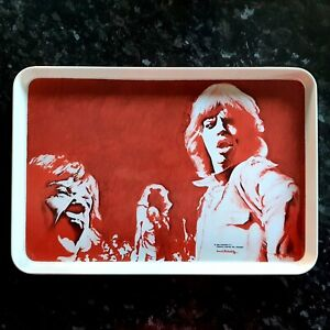 Rolling Stones / Mick Jagger - Art Tea Tray - David Oxtoby (Personal Item)