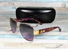 COACH HC7059 924890 Gold Purple Grey Purple Gradient 58mm Women's Sunglasses