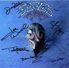 THE EAGLES Signed 'Greatest' Photograph - Rock Band signed by 5 members Preprint