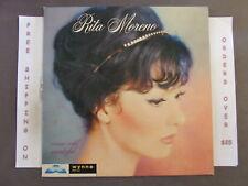 RITA MORENO WARM WILD WONDERFUL MONO 1959 LP WLP 103