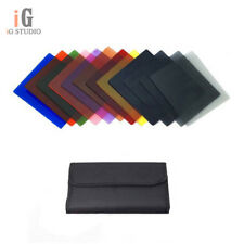 12 in1 Filter Case Bag + 12 pcs Square Color Filters Kit for Cokin P Series