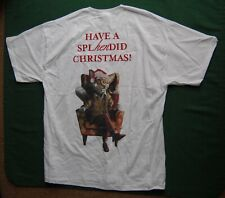 More details for old speckled hen christmas fox t-shirt - size l large - uk beer ale breweriana