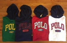 Polo Ralph Lauren Mens Accented Graphic Hooded Shirt Hoodie Long Sleeve