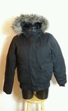 H&M Waist Length Faux Fur Casual Coats & Jackets for Women