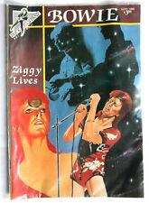 Bowie Ziggy Lives Comic Book First Print Sept 1990 Rock Fantasy MINT