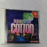 RAINBOW COTTON Dreamcast DC  SUCCESS T9901M Japan Rare game software From Japan