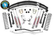 "Jeep XJ Cherokee 4.5"" X-Series Lift Kit w/ N2.0 Shocks, 633XN2, *SAME DAY SHIP*"