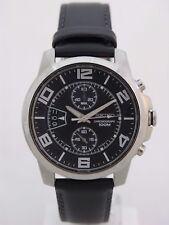 Seiko mens watches caliber 7T94 calendar special date  black face casual SNN167