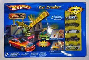 Hot Wheels Car Crusher e/ Bonus Cars-NIB