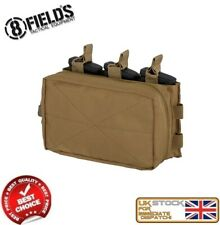 MILITARY TACTICAL M4 MAGAZINE MOLLE TRIPLE POUCH COYOTE M51613213-TAN