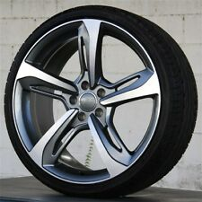 SET(4) 19x8.5 WHEEL & TIRE PACKAGE AUDI B8 RS7 Style Fit A4 A6 A8 S4 S6 Q5 A5