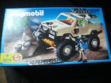 Playmobil 4X4 safari aventure voiture explorateurs réf 3219 neuf en boite