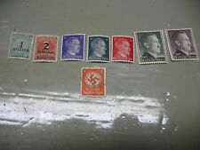 DEUTSCHES REICH STAMPS (7)    1RM  2RM  &  MILLION MARKS  MOST UNHINGED ( SEE)