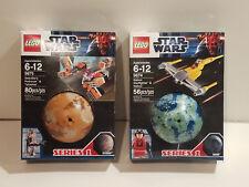 LEGO 9675 Sebulba's Podracer & 9674 Naboo Starfighter NEW Star Wars MISB