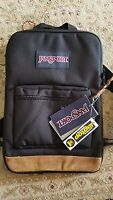 "Jansport ""Right Pack"" Backpack Suede School Book Bag 15"" Laptop Sleeve"