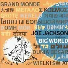1 CENT CD Big World - Joe Jackson