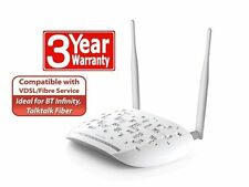 TP-Link TD-W9970 300Mbps Wireless N USB VDSL2 Modem Router UK Plug