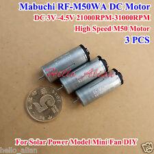 10mm Mabuchi FF-M20 DC 3V 5V 6V 27800RPM High Speed Precious Metal Brush Motor