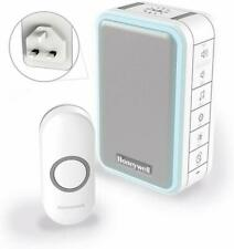 HONEYWELL WIRELESS PLUG IN DOORBELL PUSH BUTTON WITH LIGHT UP FEEDBACK DC315NBS