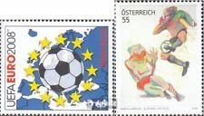 Austria 2714,2715 fine used / cancelled 2008 Football-european championship