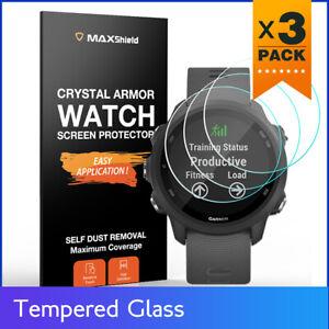 3 Pack Tempered Glass Screen Protector F Garmin Forerunner 245 Music 735 935 945
