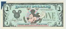 Mickey Mouse Disney Dollars Series 1989