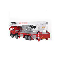 NEW 1:50 Diecast Aerial Fire Truck Construction Vehicle Cars Model Toys US US