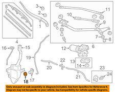 HONDA OEM Wiper Washer-Windshield-Washer Pump Bushing 76842SHJA01