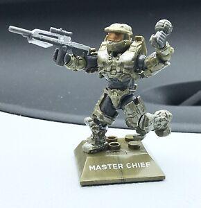 RARE Master Chief Figure Mega Construx HALO From Final Showdown Vs Arbiter GNN72