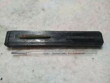 Antique Becton Dickinson Thermometer Oral Rectal Bakelite Case 73587 Medical