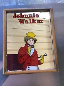 VINTAGE JOHNNIE WALKER BAR MIRROR