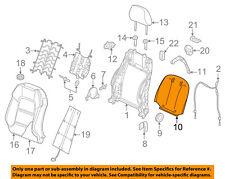 AUDI OEM 17-18 A3 Front Seat-Seat Back Panel Trim 8V7881969AEFH