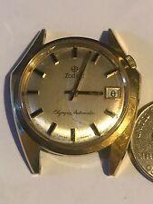 1960'S Vintage Zodiac Olympos Automatic Swiss Asymmetrical Men 's Watch RARE